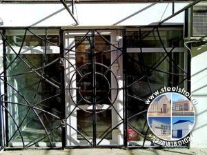 Дверь решетка металлическая
