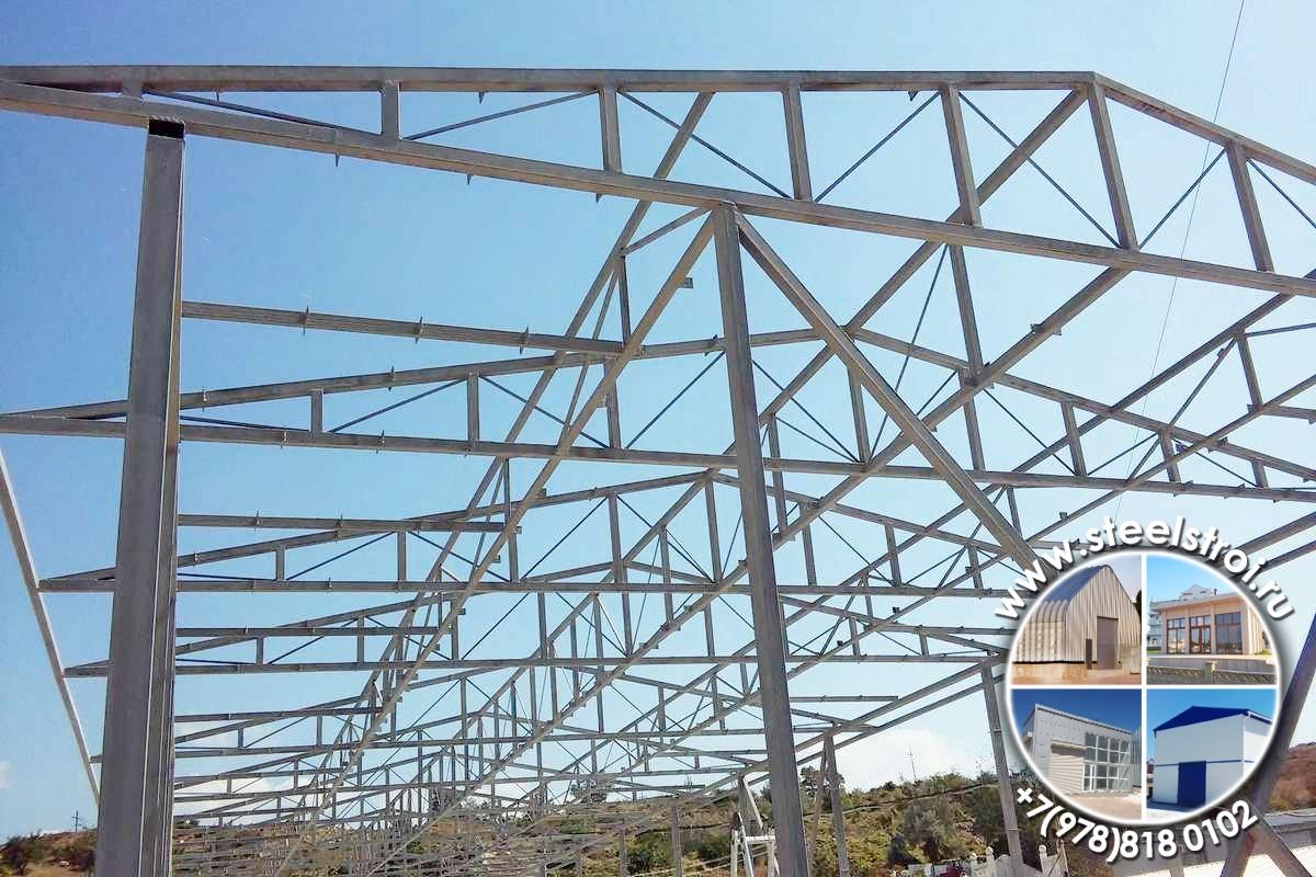 Конструирование промышленных зданий