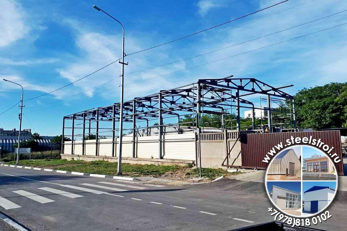 Конструкции одноэтажных промышленных зданий