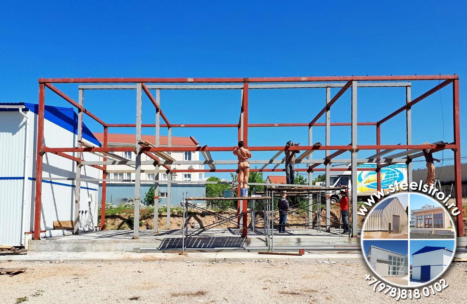 Строительство складов из металлоконструкций цена