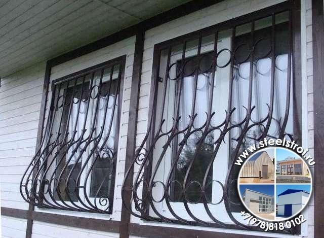 изготовление металлических решеток на окна цена