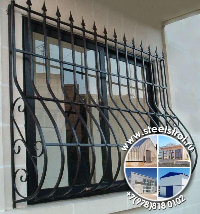 изготовление решеток металлических на окна смета