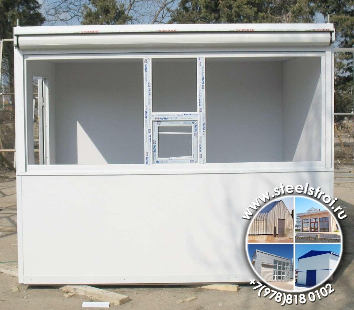 Модульное строительство павильонов