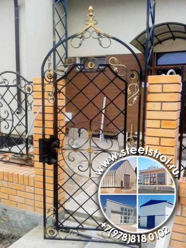 Изготовление гаражных ворот металлических цена