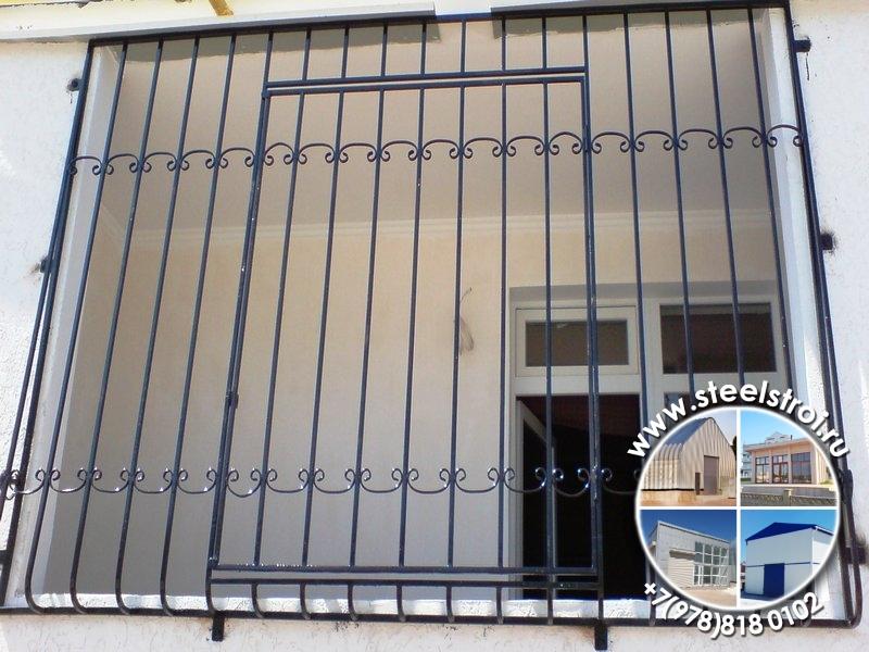 Металлические решетки на окна цены