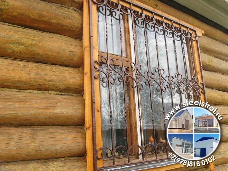 Решетки на окна фото цены недорого
