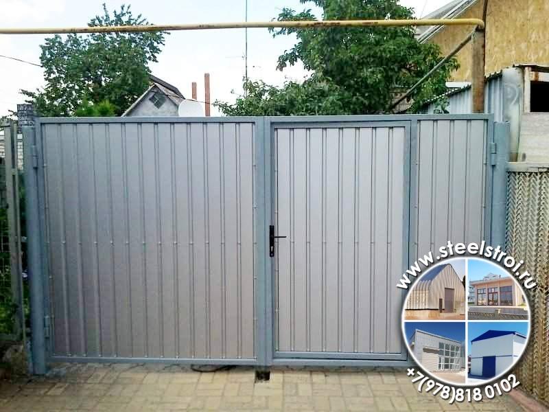 Сделать металлические ворота