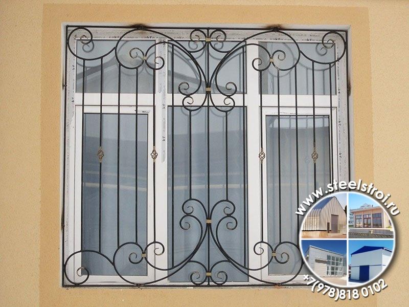 Сколько стоят решетки на окна