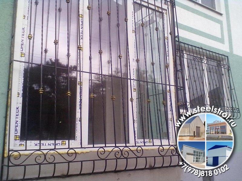 Стоимость решеток на окна