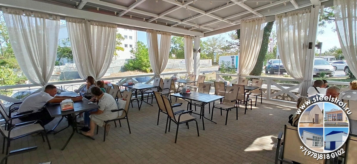 Здание кафе построить Севастополь